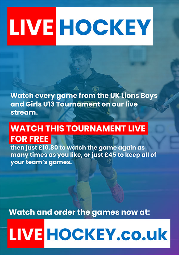 Stream Live Hockey at livehockey.co.uk